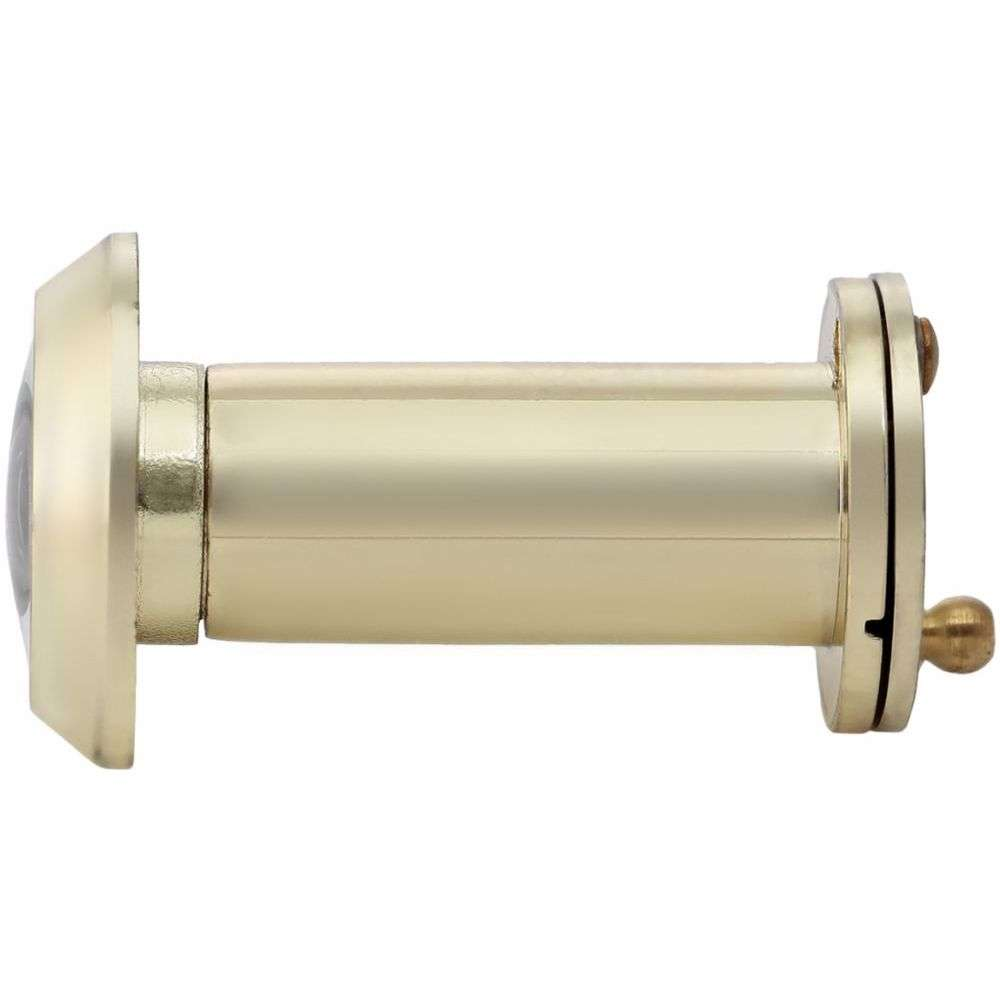 Door Viewer Peep Hole with Cover - Gold