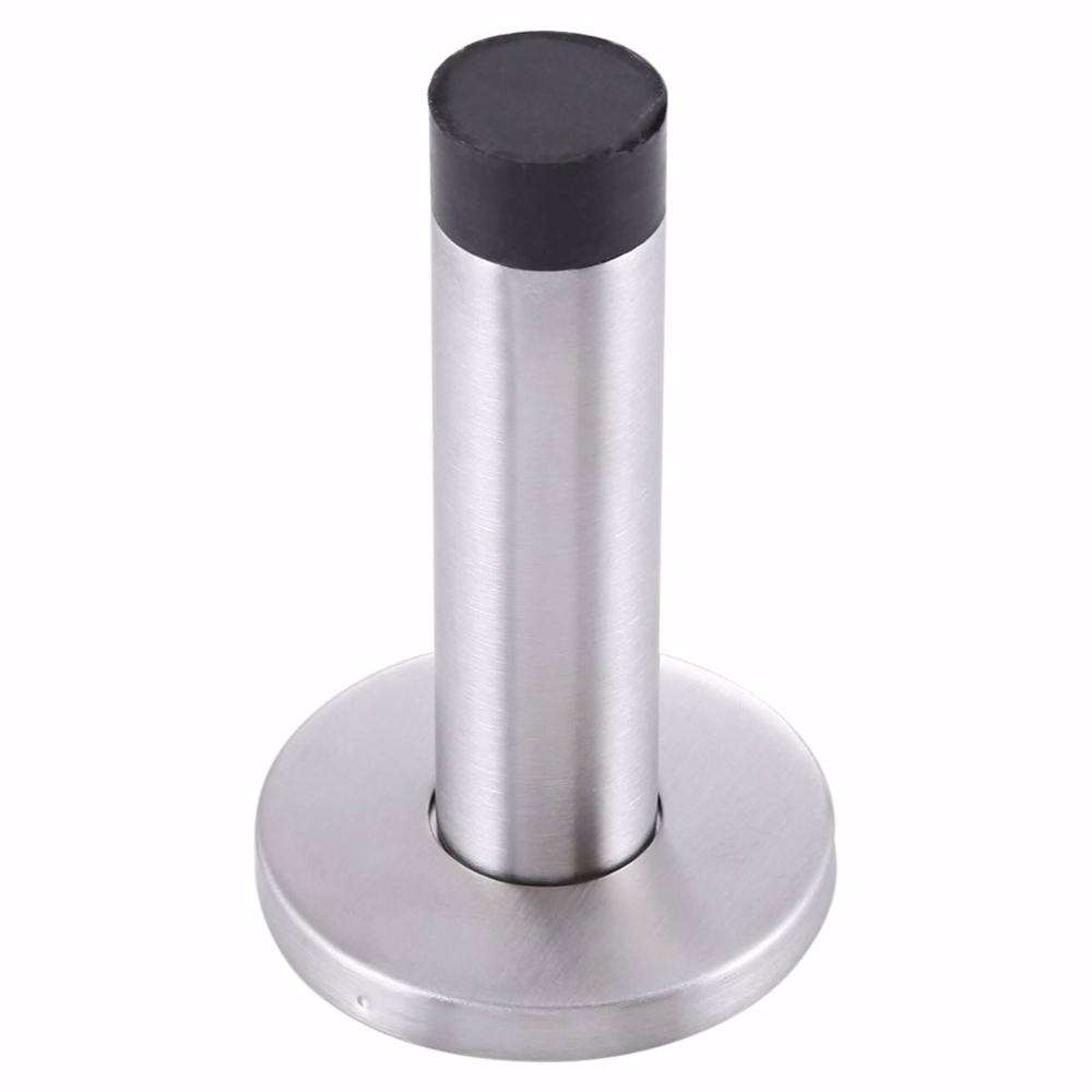 Dorfit DTDS010 Stainless Steel Wall Mounted Door Stopper With Rubber