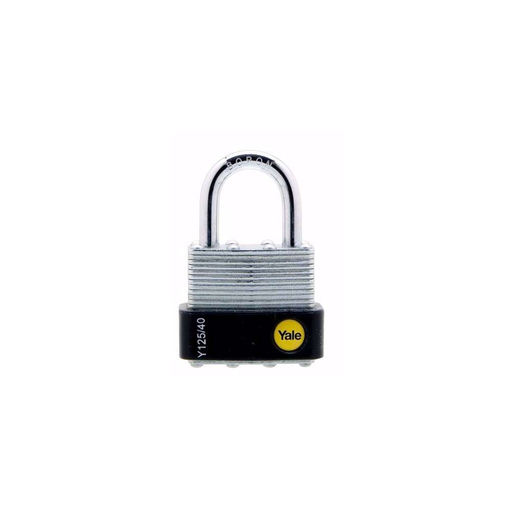 Yale Y125 Laminated Security Padlock 44 mm