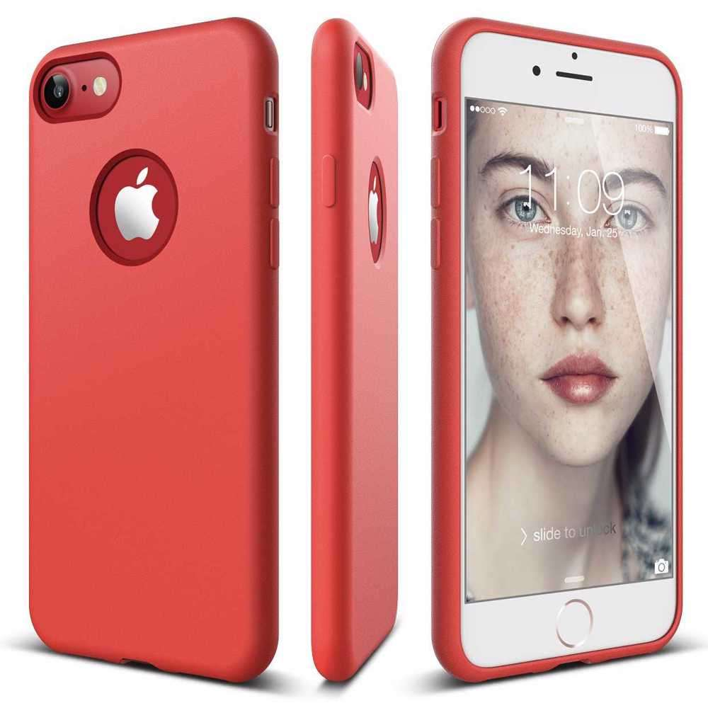 Elago Slim Fit Soft Case for iPhone 8 / 7 - Red