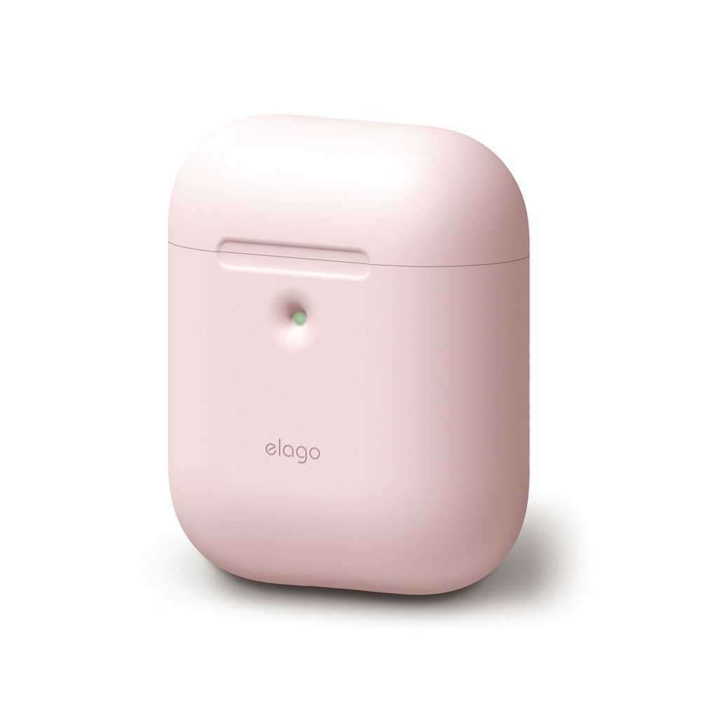 Elago 2nd Generation Airpods Silicone Case - Pink
