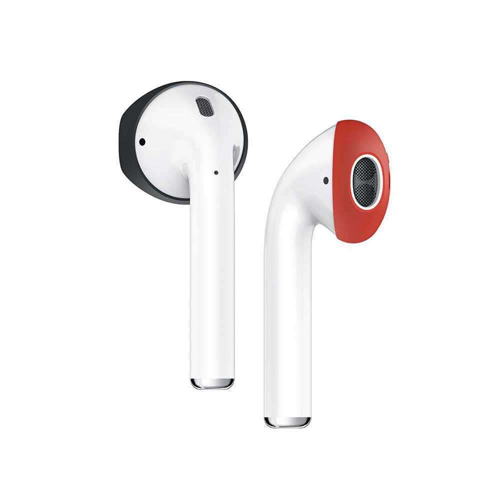 Elago Airpods Secure Fit - Black/Red