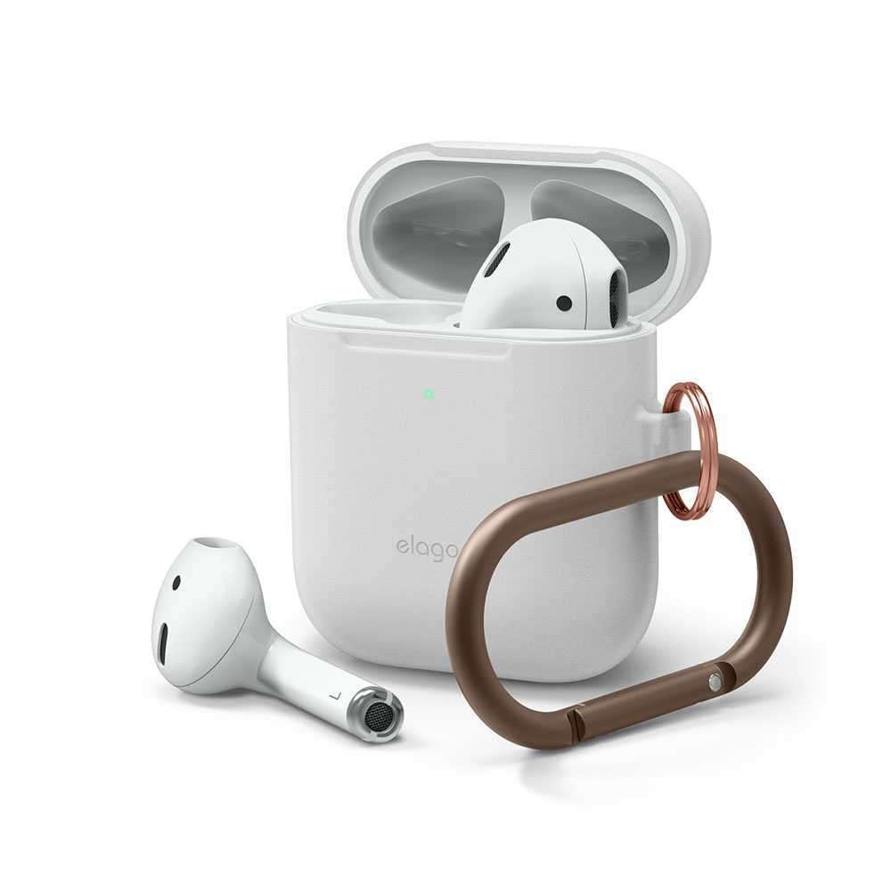 Elago Skinny Hang Case for Apple Airpods - Night Glow Blue