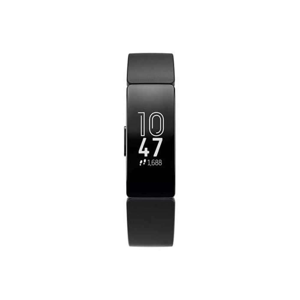 Fitbit Inspire HR Fitness Wristband with Heart Rate Tracker - Black/Black