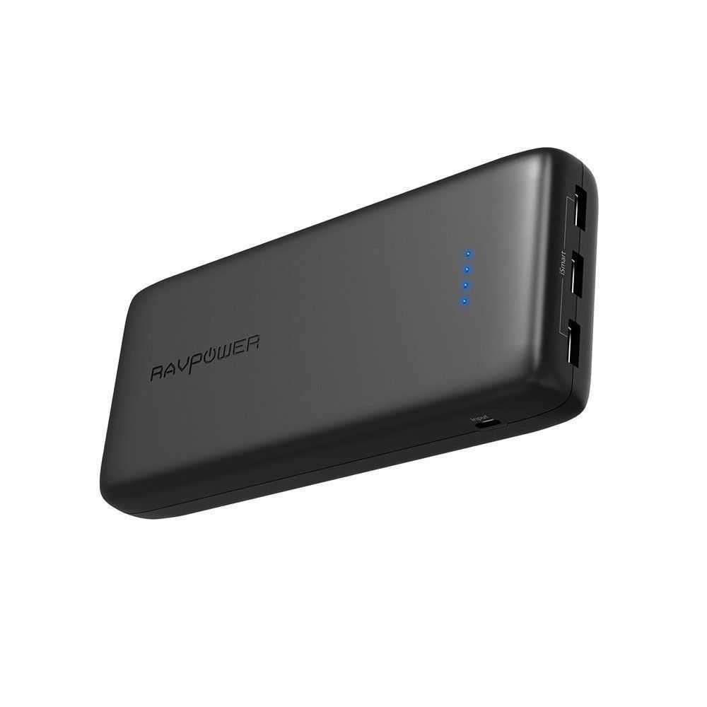 RAVPower Ace Series 32000mAh Portable Charger - Black