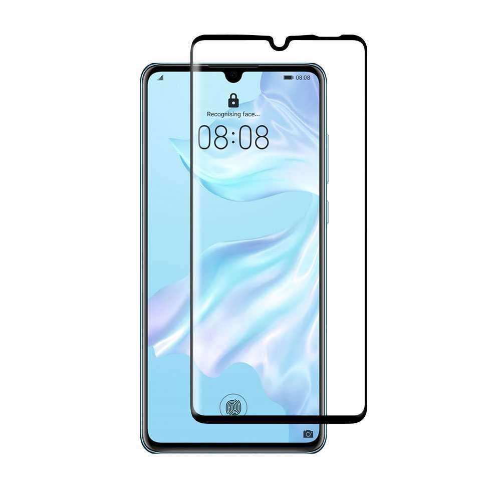 Porodo 3D Curved Tempered Glass Screen Protector 0.25mm for Huawei P30 - Black