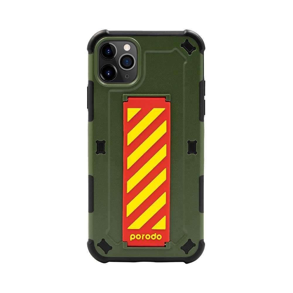 iGuard by Porodo Strap Phone Case for iPhone 11 Pro - Green