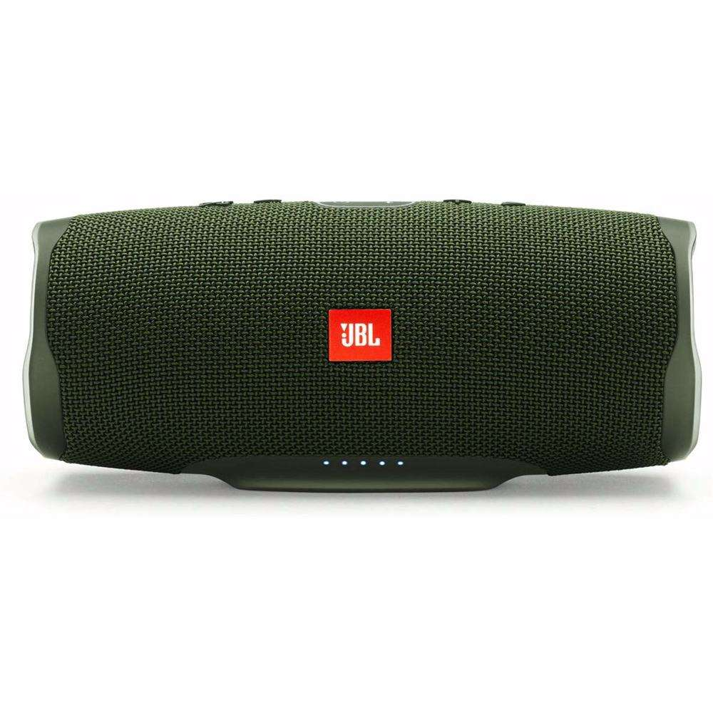 JBL Splashproof Portable Bluetooth Speaker With Usb Charger Charge4- Green