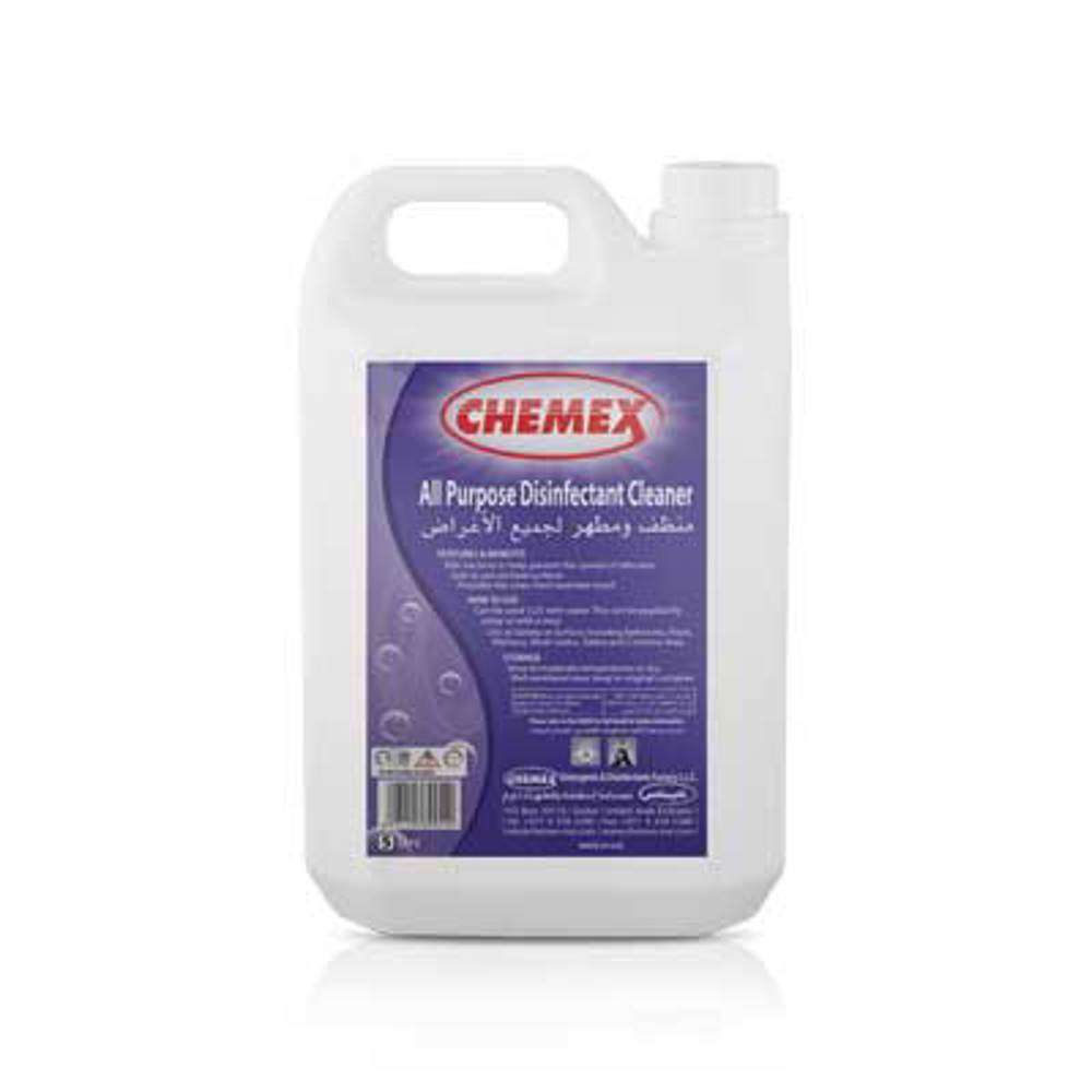 Chemex All Purpose Disinfectant Cleaner-5 Ltr