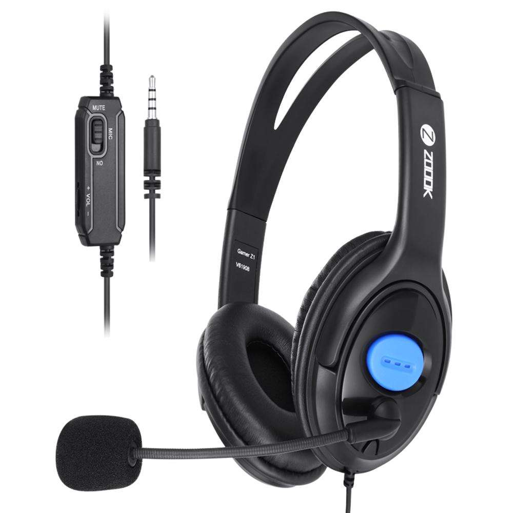 ZG-Gamer Z1 Headphone for PS4 and PC - Black