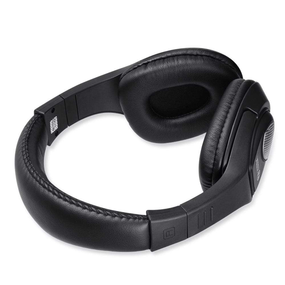 ZM-Rocker-Flame Headphone with Mic & extra BASS Single 3.5mm Connector - Black