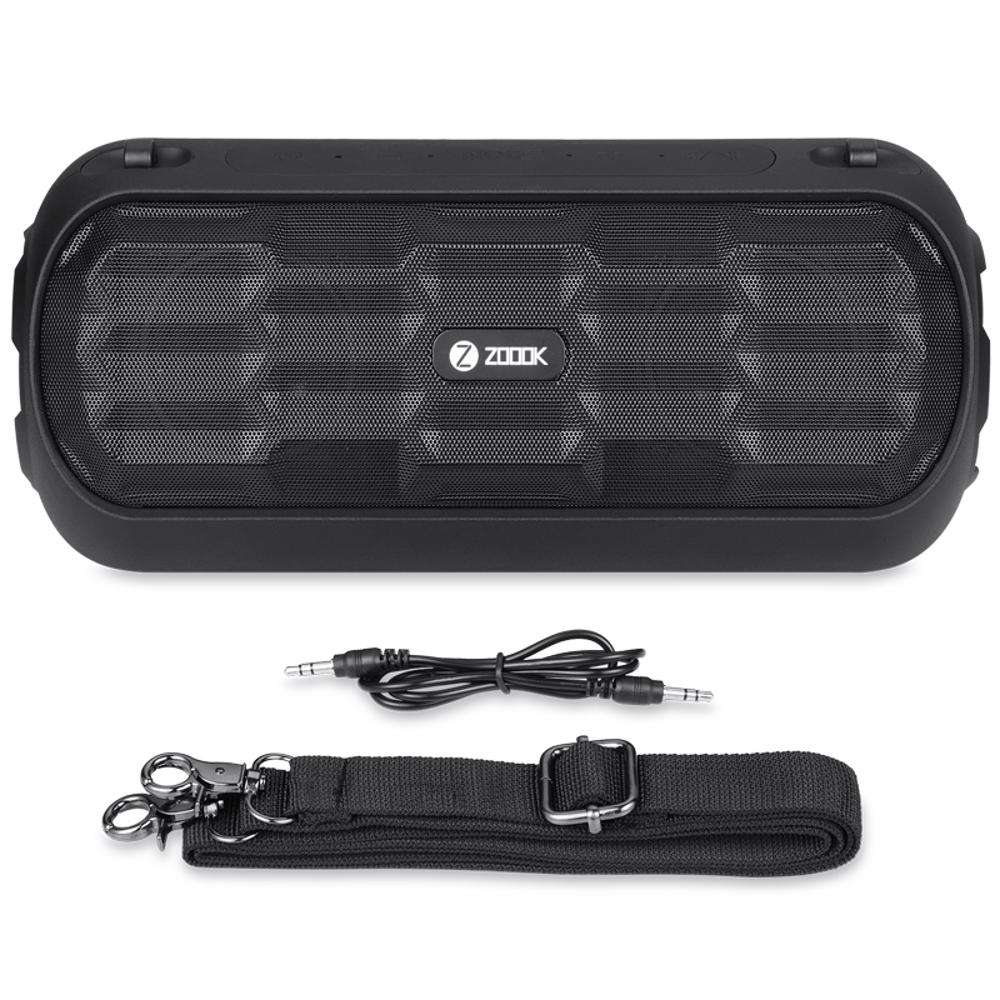 ZB-Sound-Might Zoook TWS Ready 14W IPX5 Bluetooth Speaker System with 4000mAh battery - Black