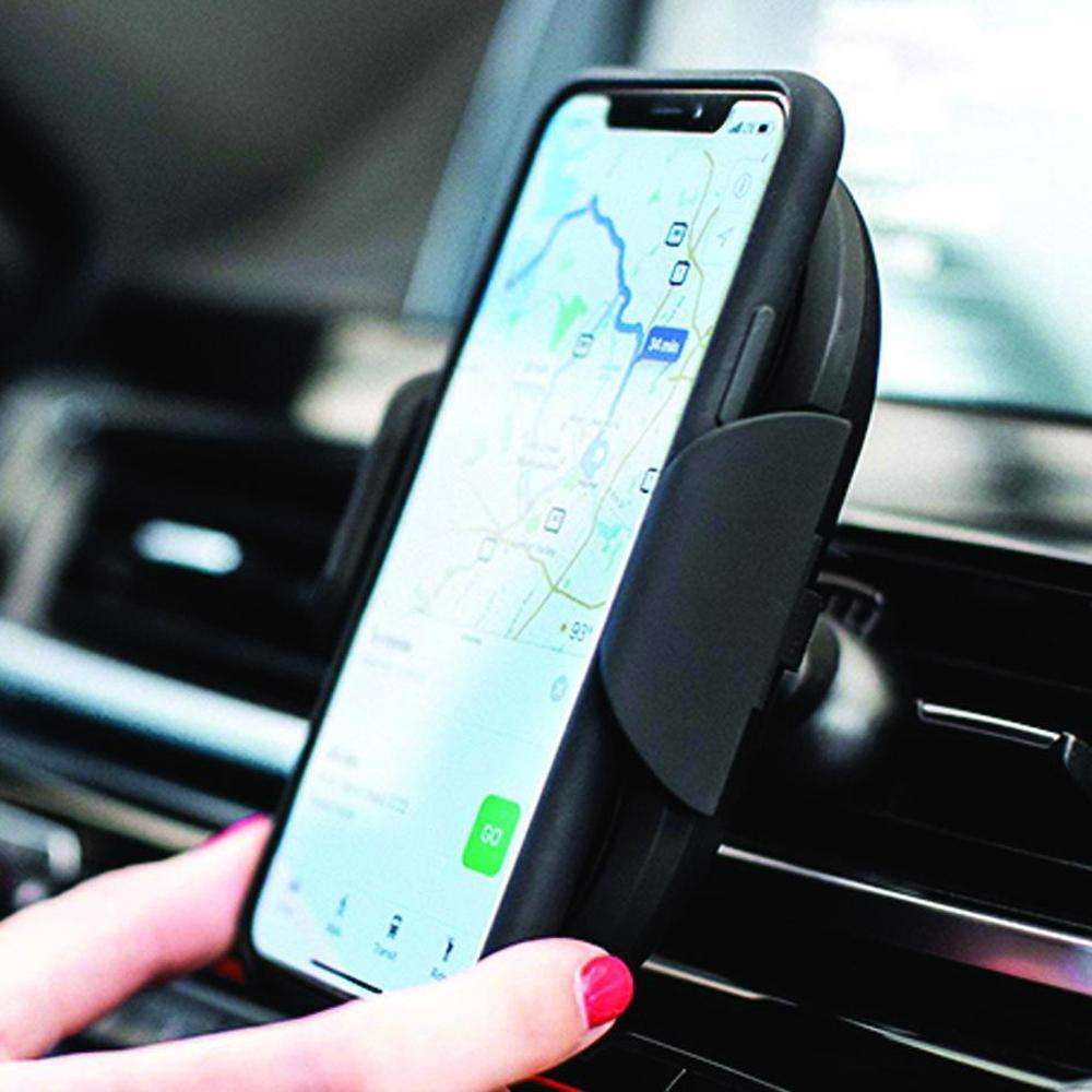 ADONIT Auto Clamping Sensor Wireless Charging Mount Mount & Dash 10W Fast Charge