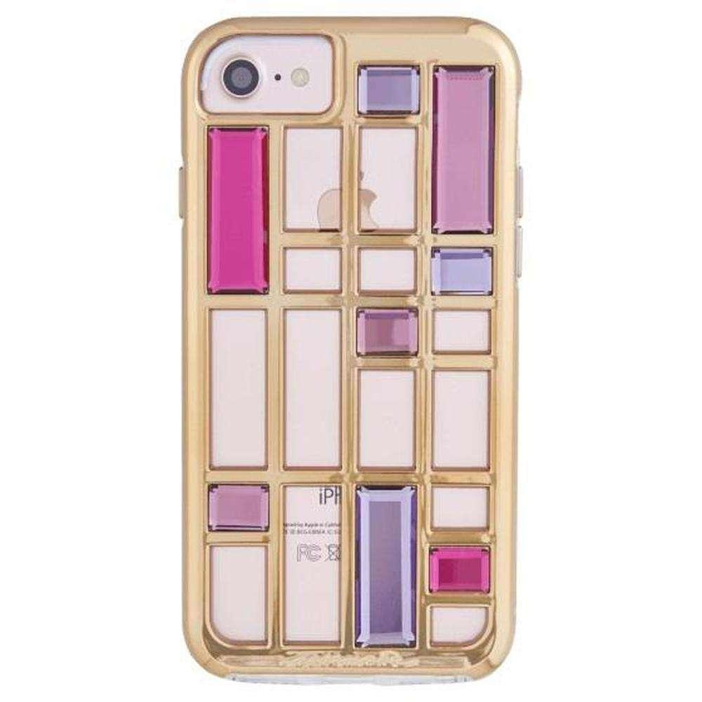 CASE-MATE Caged Crystal For iPhone 8/ 7 Rose Gold