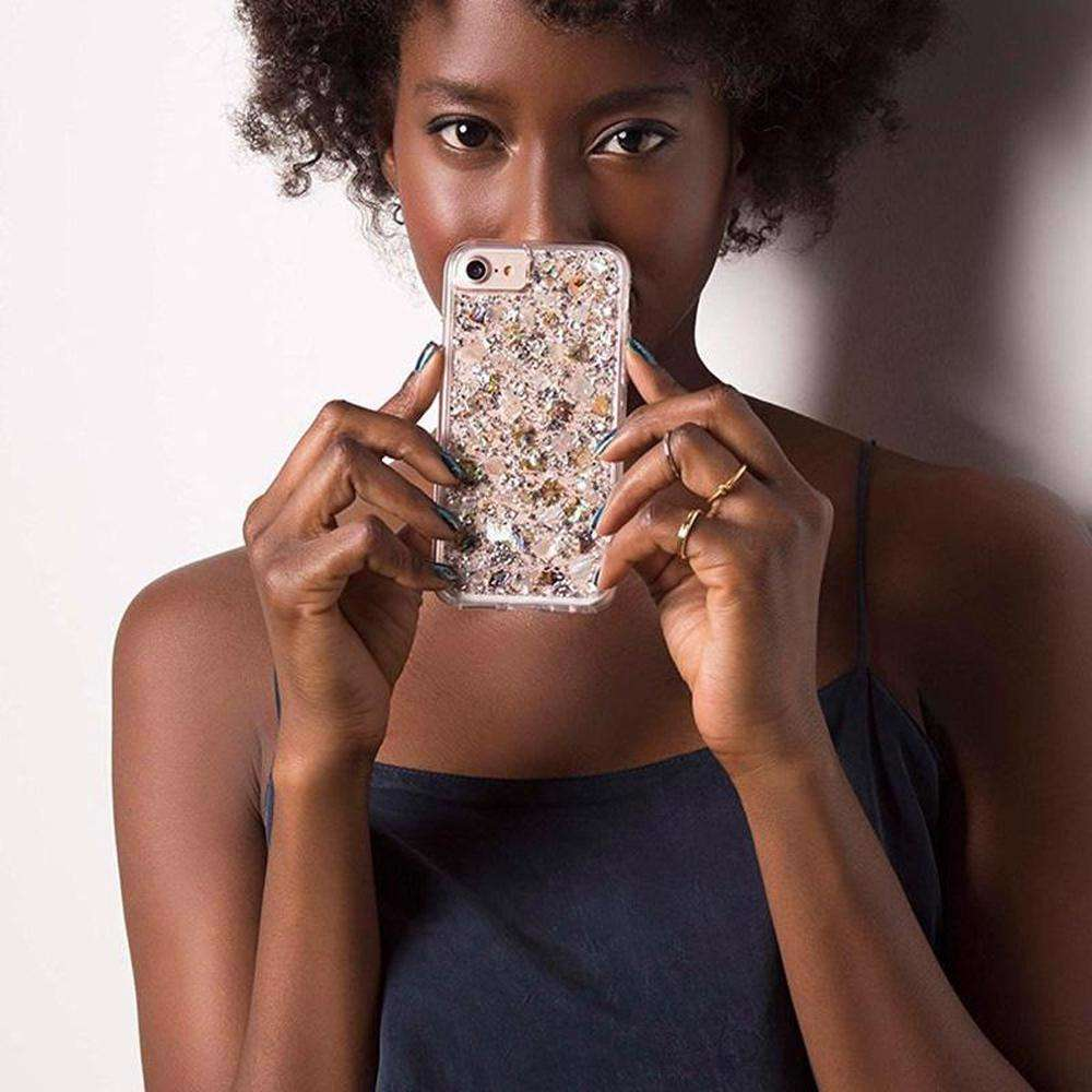 CASE-MATE Karat Case For iPhone 8/7 Mother of Pearl