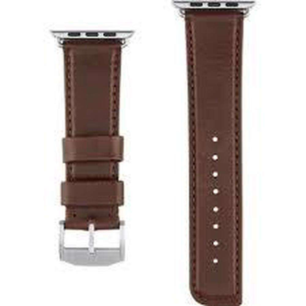 CASE-MATE 42mm Apple Watchband - Leather Tobacco