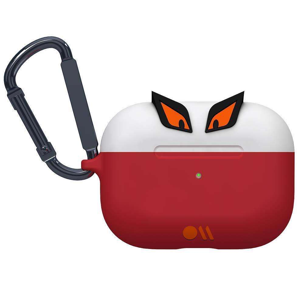 CASE-MATE CreaturePods AirPods Pro Case - Edge The Bad Boy - White/Red