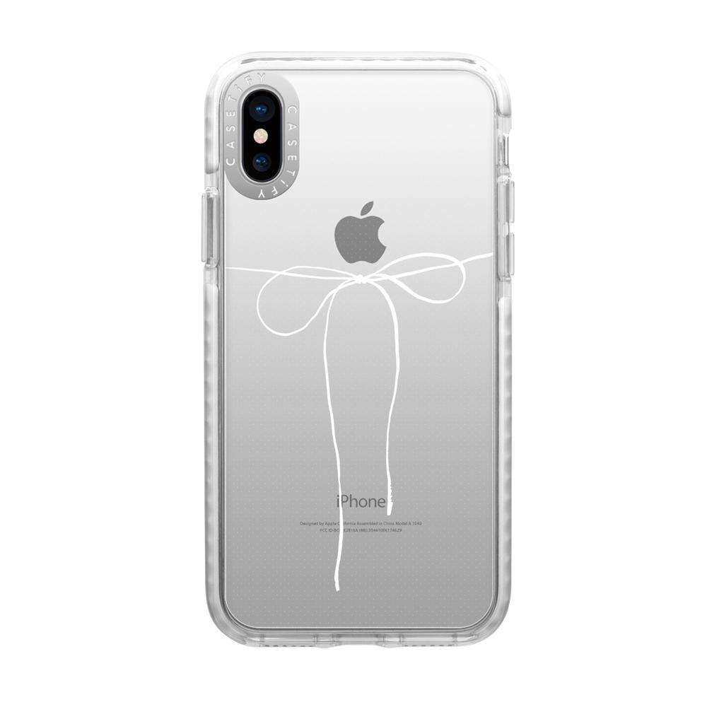 CASETIFY Impact Case - Take A Bow for iPhone XS Max