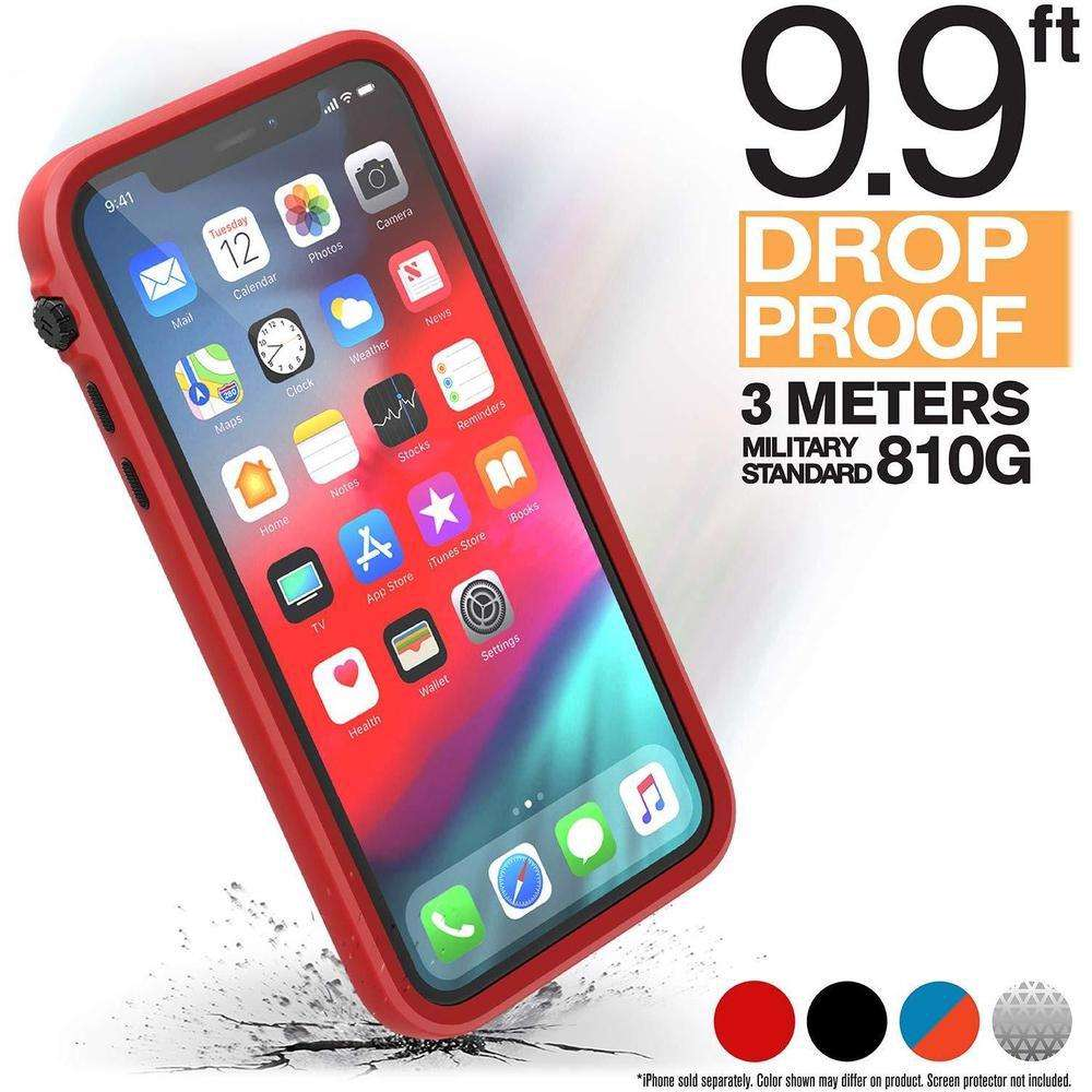 CATALYST Impact Protection Case for iPhone 11 - Black / Red