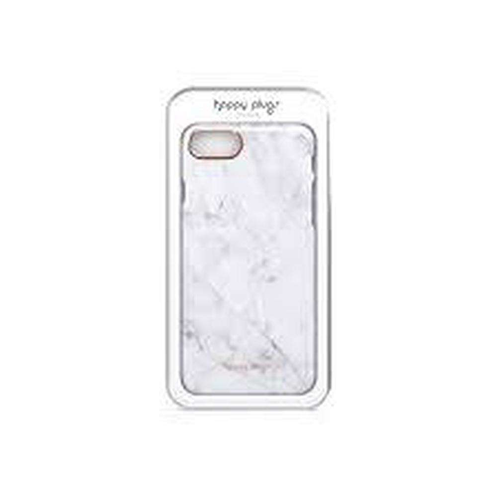 HAPPY PLUGS Slim Case for iPhone 8/7 White Marble
