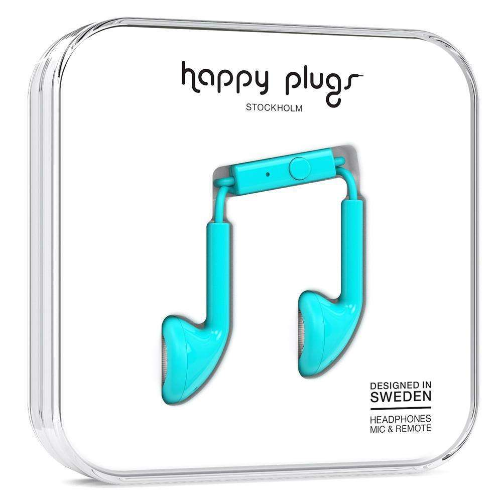 HAPPY PLUGS Earbuds Turquoise
