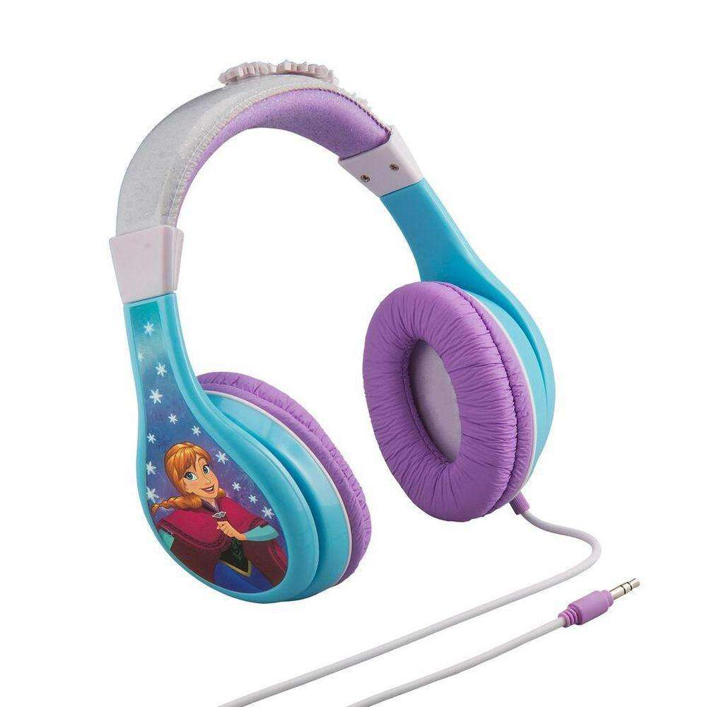 iHOME Kiddesigns Over-Ear Headphone Volume Limited With 3 Settings Frozen