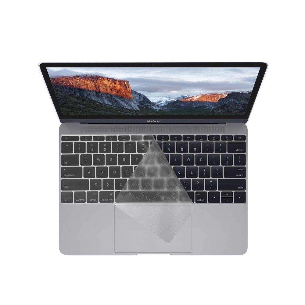 KB COVERS Keyboard Cover for MacBook Pro 13 and 15-inch - w/ Touch Bar Clear