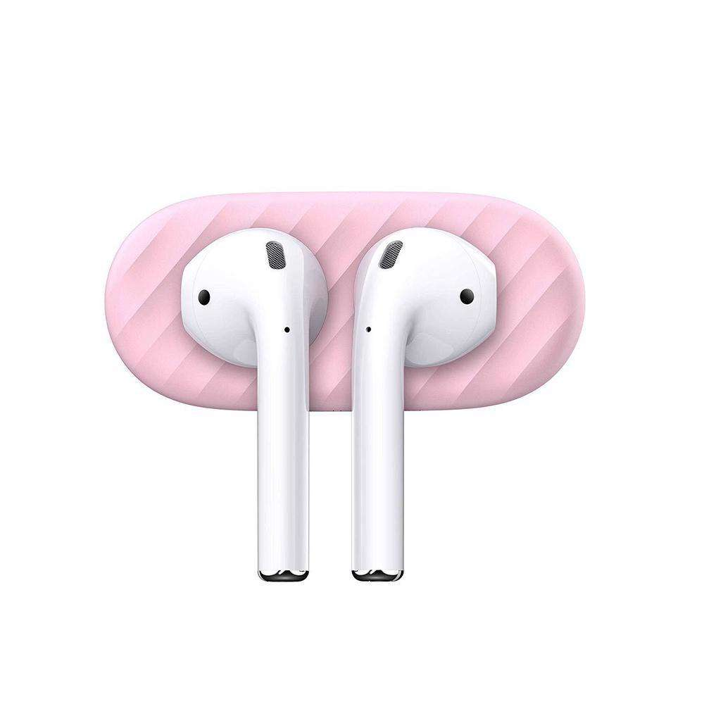 KEYBUDZ AirDockz Magnetic Dock Accessory for Airpods 1 & 2 - Blush Pink