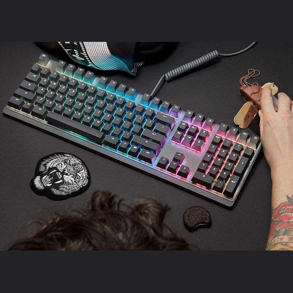 MIONIX Wei Mechanical Keyboard US layout - PC and macOS - RGB backlight (Black/Gray)