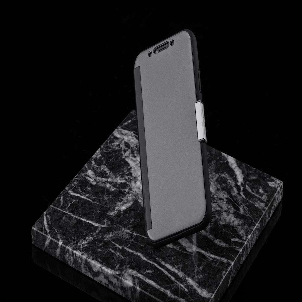 MOSHI Stealthcover Gunmetal Gray for iPhone XS/X