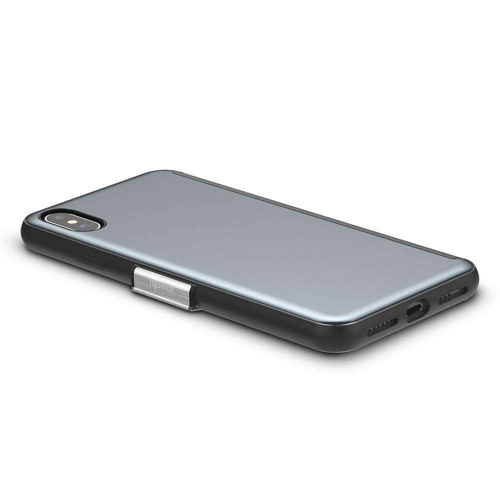 MOSHI Stealthcover Case for iPhone XS Max Gunmetal Gray