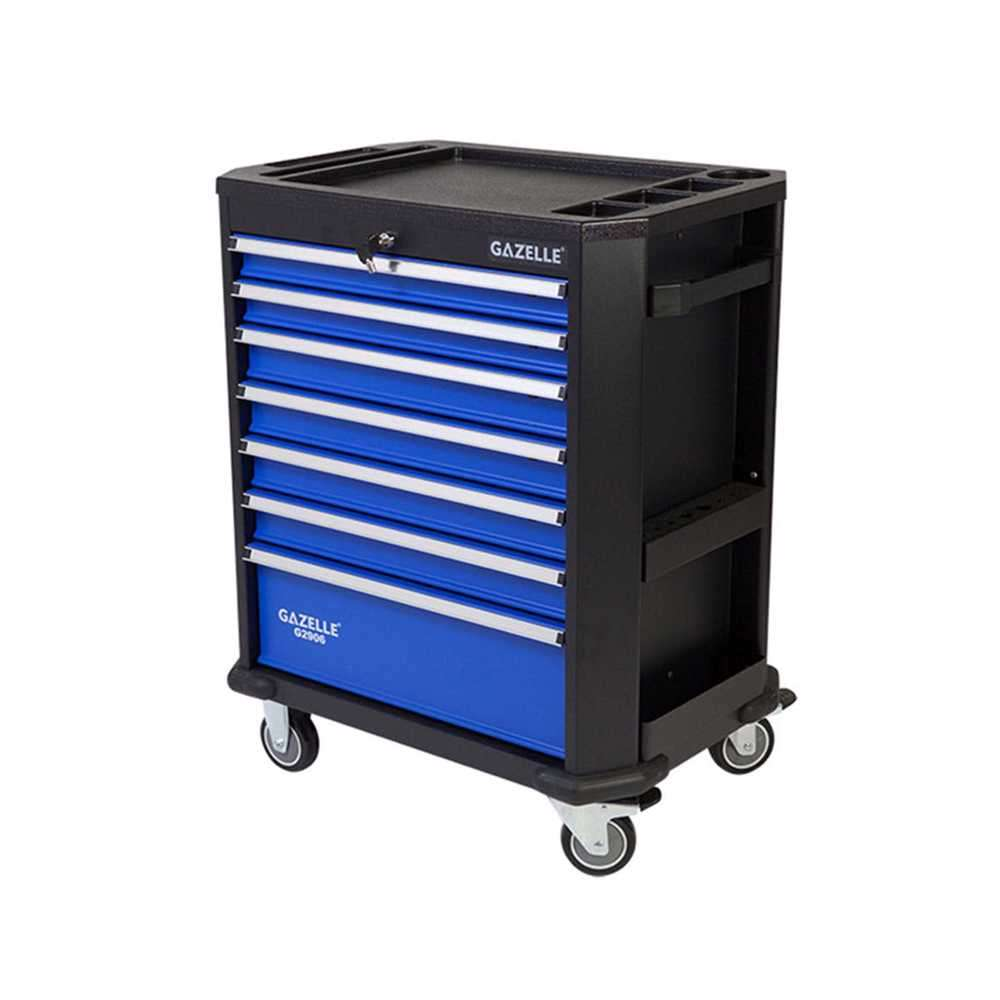 GAZELLE - G2906 27 Inch 7-Drawer Rolling Tool Cabinet