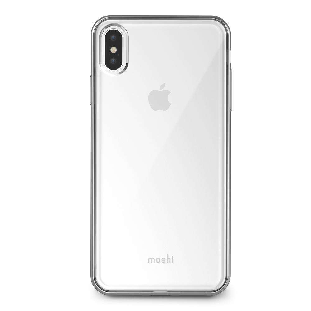 MOSHI Vitros Case for iPhone XS Max Jet Silver