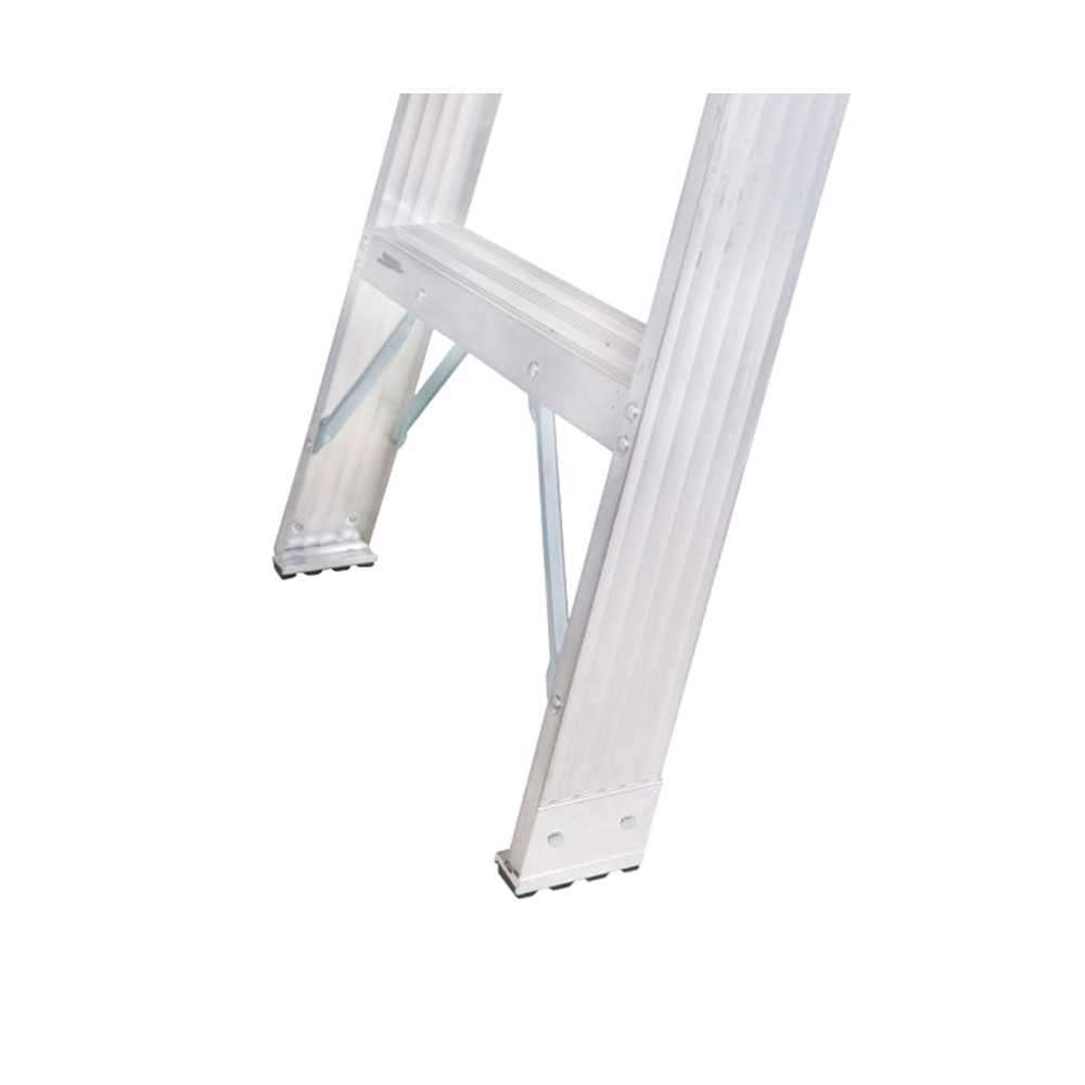 GAZELLE - 12 Ft. Aluminium Step Ladder for working height up to 15 Ft.