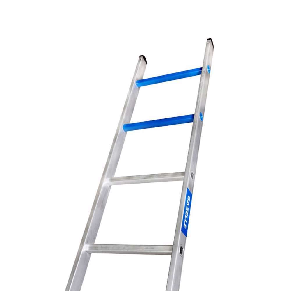 GAZELLE - 13 Ft. Aluminium Straight Ladder for working height up to 16 Ft.
