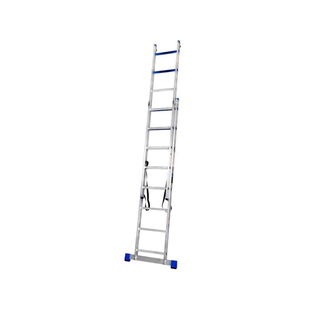 GAZELLE - 15 Ft. Aluminium Combination Ladder 2 X 10 Steps