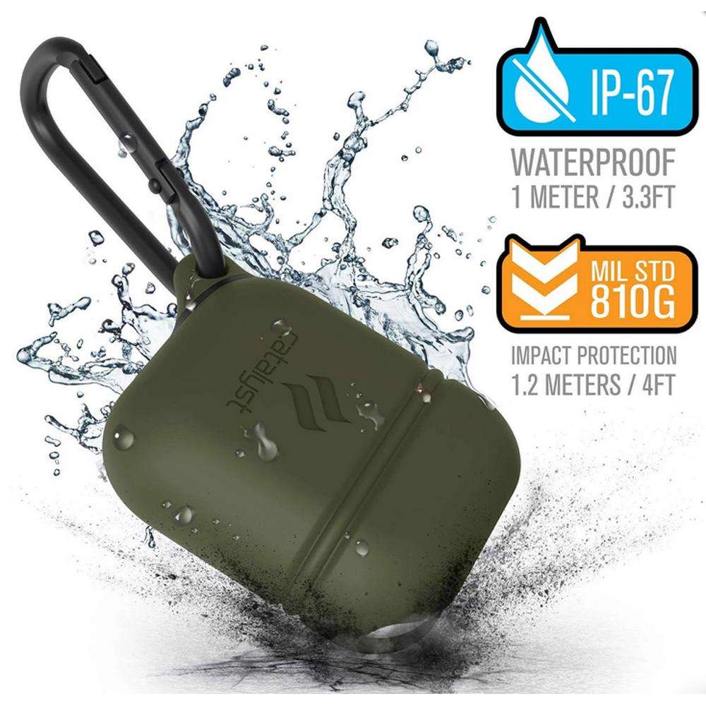 CATALYST Case For Airpods Army Green