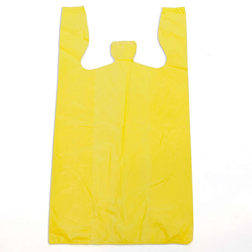 Hotpack Plastic Carry Bag Yellow 44x 56 centimeter