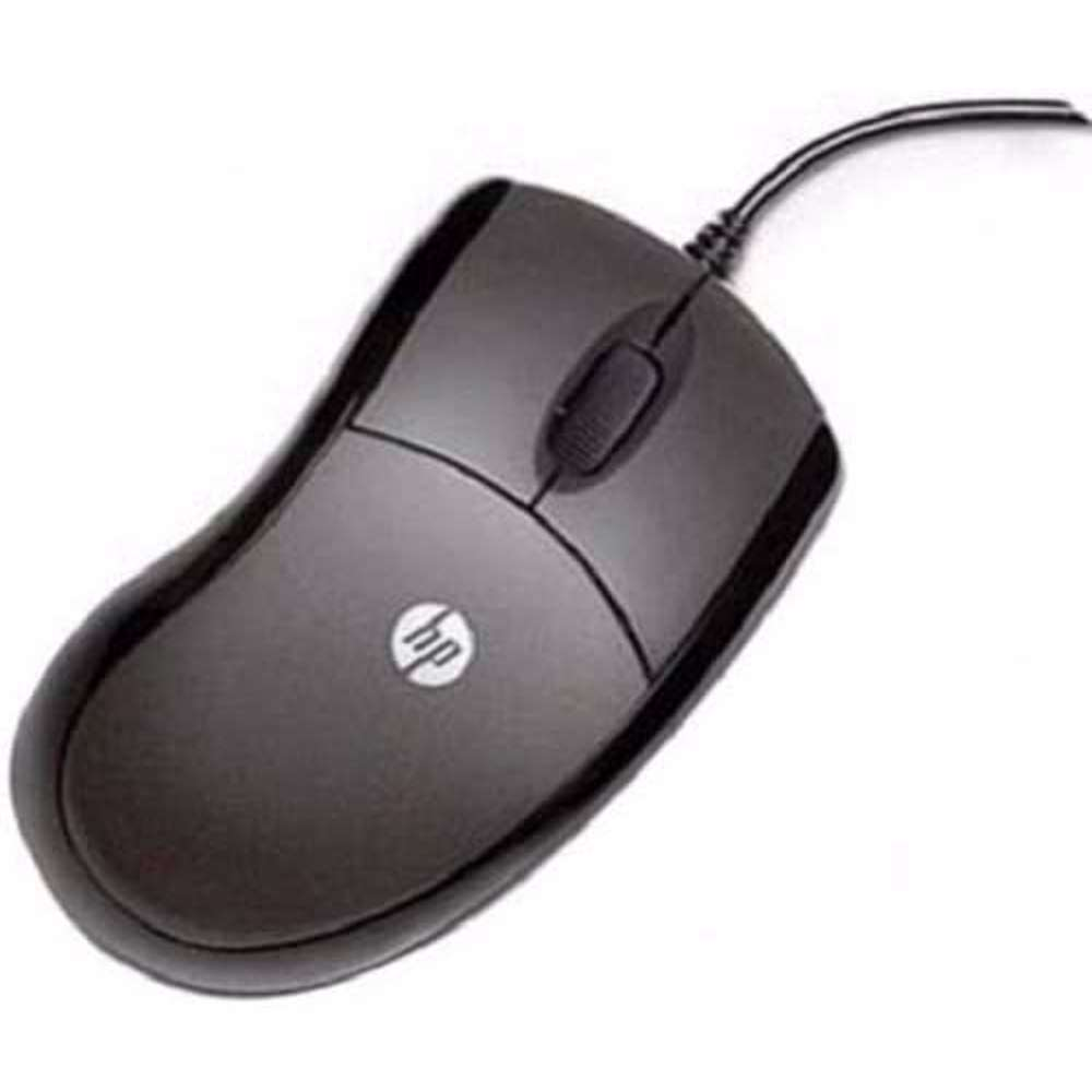 HP USB 3 button optical Mini Mouse VW467PA Black