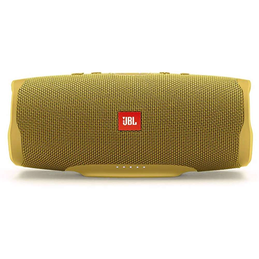 JBL Splashproof Portable Bluetooth Speaker With Usb Charger Charge4- Yellow