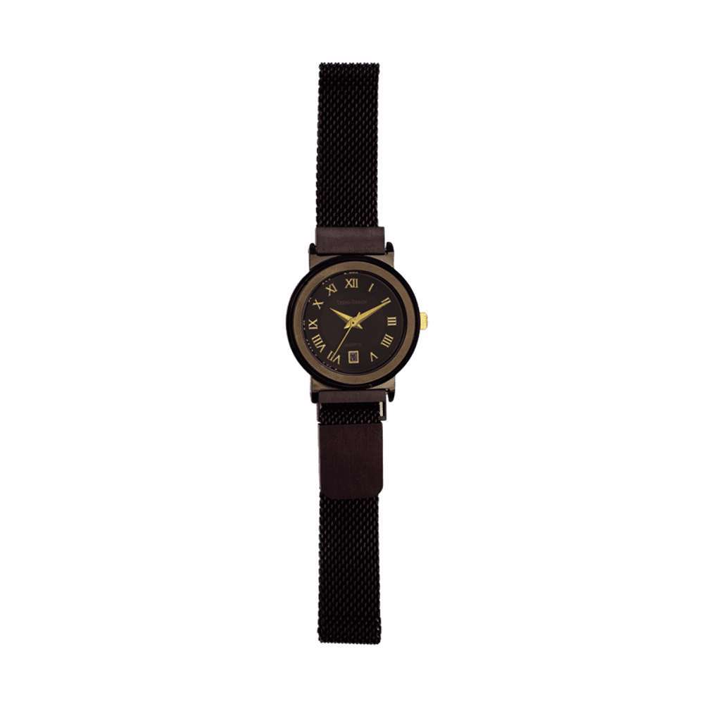 Trend Setter Women''s Black Watch - Mesh Band TD2110L-8