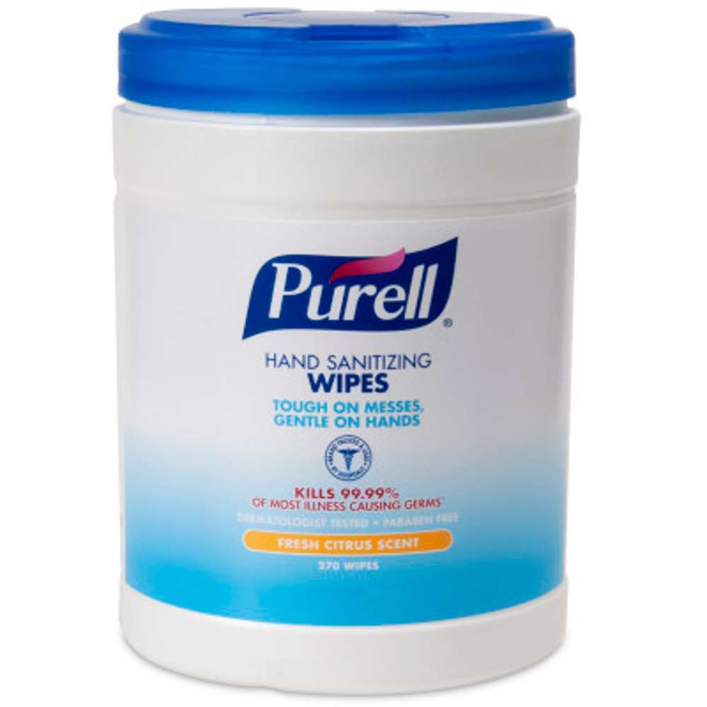 Purell Hand Sanitizing Wipes - 270 Count Eco-Fit Canister