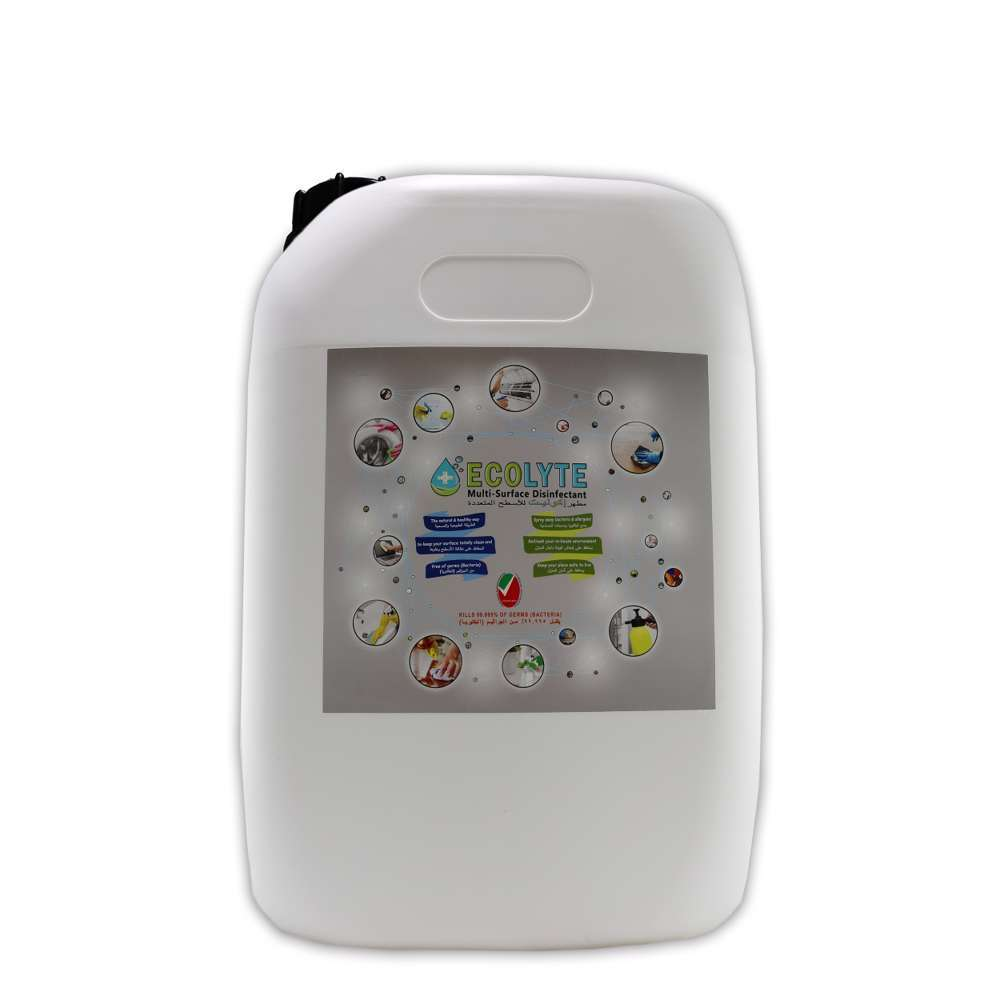 Ecolyte+ Multi-Surface Disinfectant 100% Natural - 20 Litre
