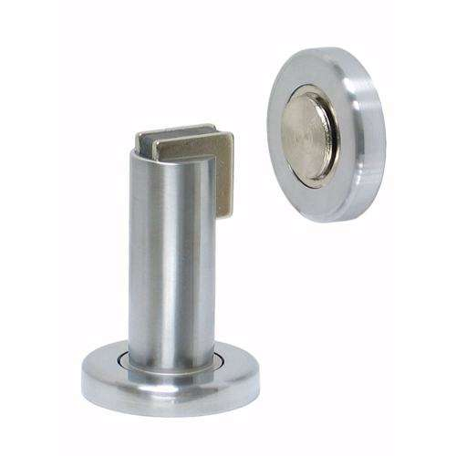 Dorfit DTDS030 Stainless Steel Heavy Duty Magnetic Door Stopper, Wall/Floor Mount