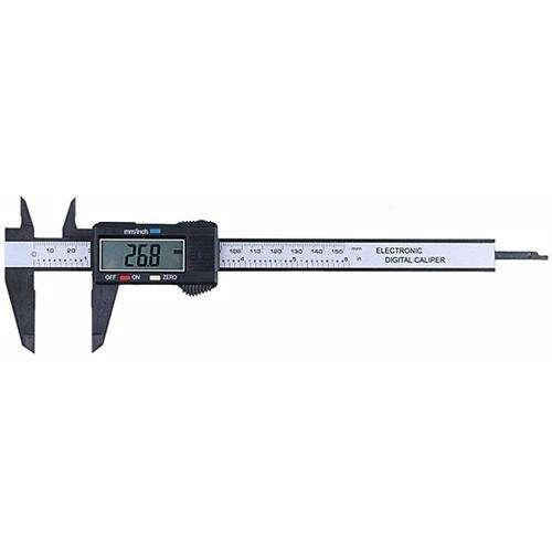 Details about  /New Carbon Fiber Composites Digital Thickness Caliper Micrometer Guage H1