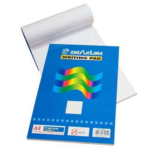 Sinarline Letter Pad A4 Normal