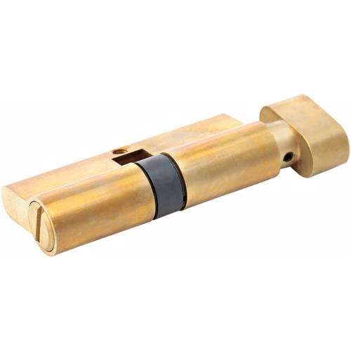 Bathroom Knob Turn Door Cylinder Gold 70 mm