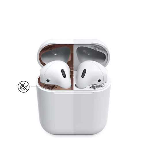 Elago Dust Guard for Apple Airpods (2 Sets) - Rose Gold