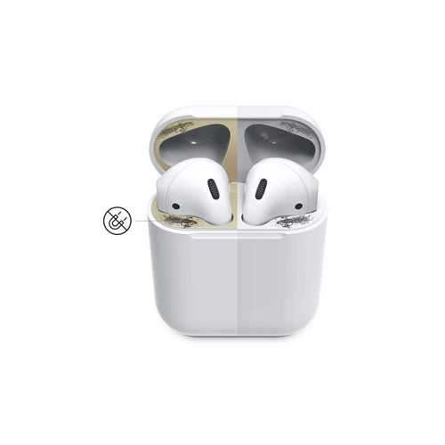Elago Dust Guard for Apple Airpods (2 Sets) - Gold