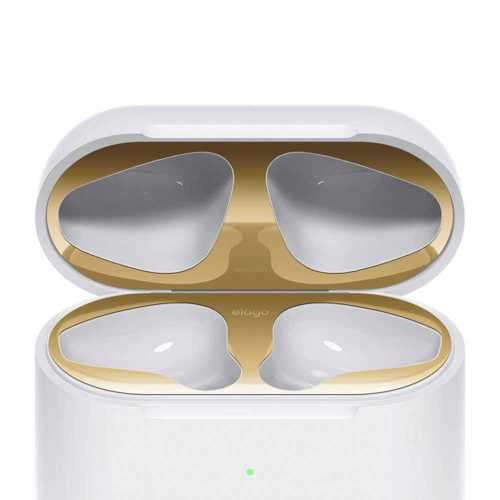 Elago Dust Guard for 2nd Generation Apple Airpods (2 Sets) - Gold